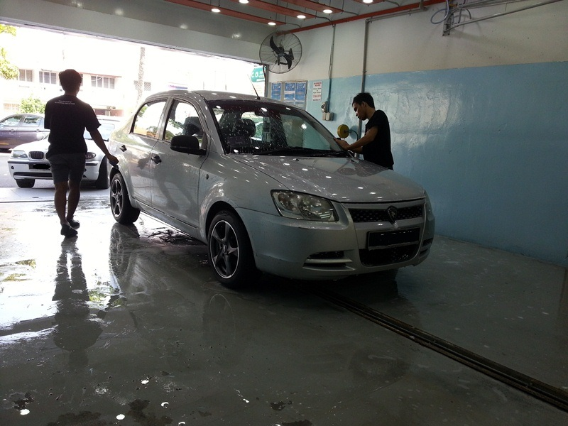 Car grooming - Washing the car