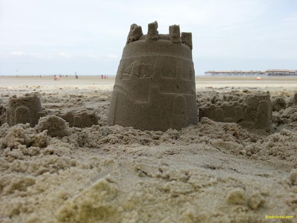 Sandcastle at Bagan Lalang