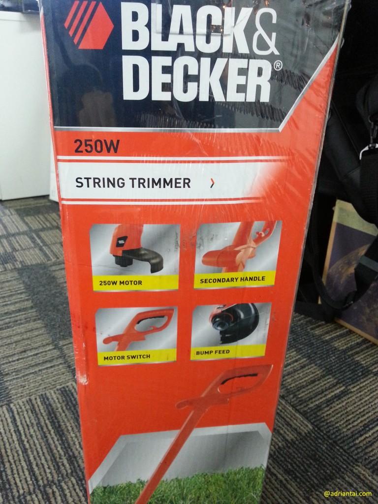 Black and Decker grass trimmer