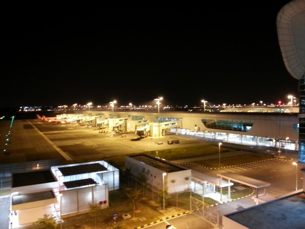 KLIA2 at night