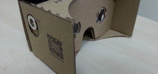 Google Cardboard assembled