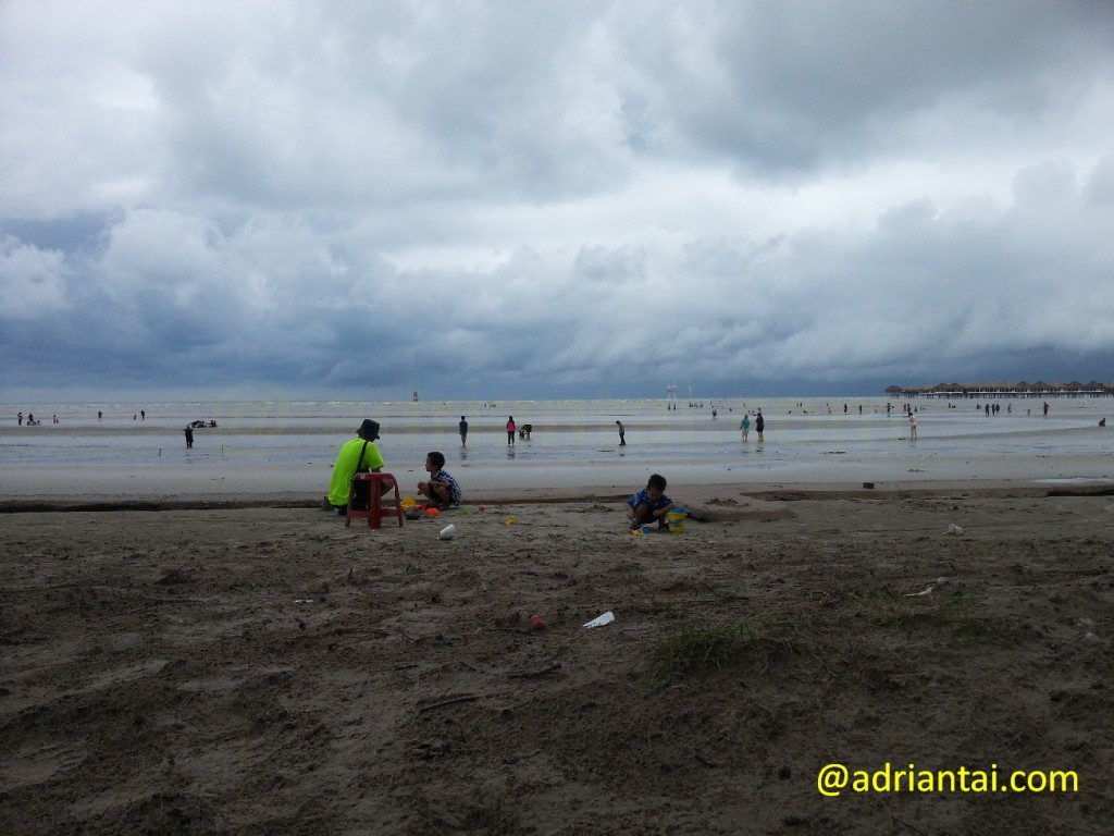 Fun at Bagan Lalang beach