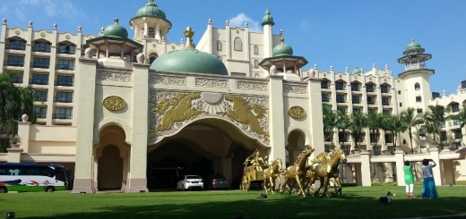 Main entrance of the Palace of the Golden Horses