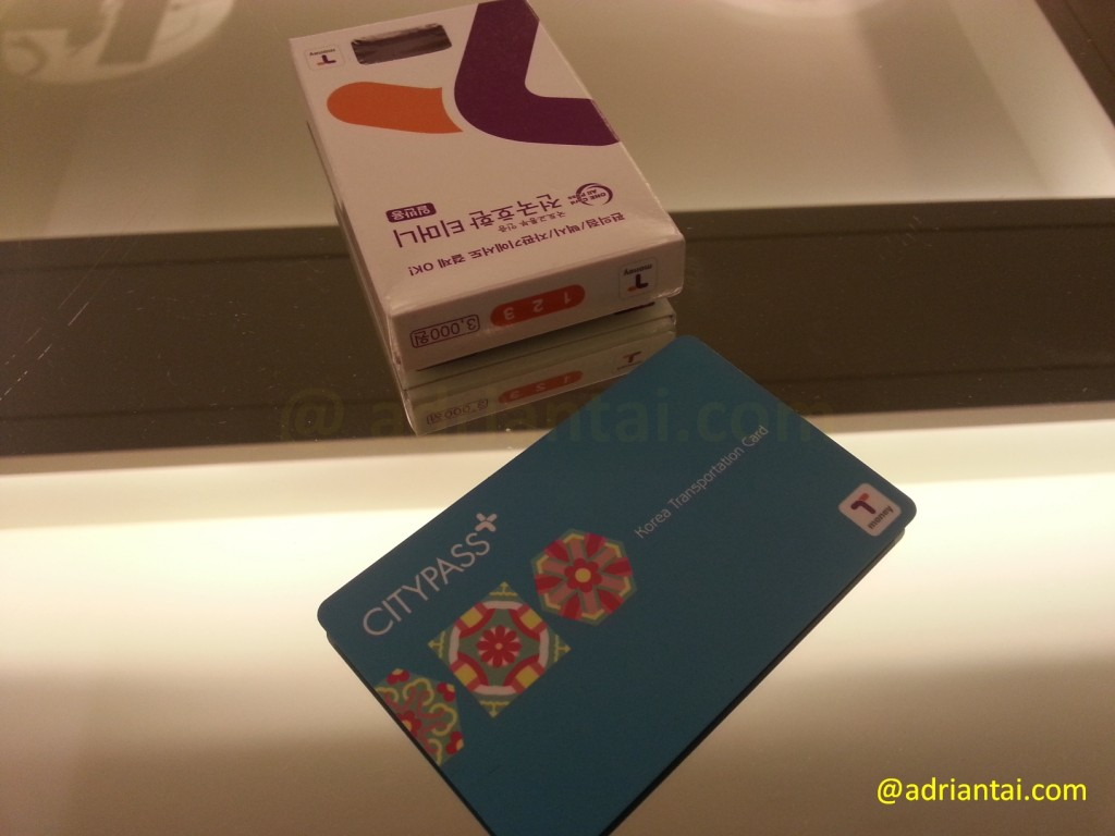 T-Card in Korea