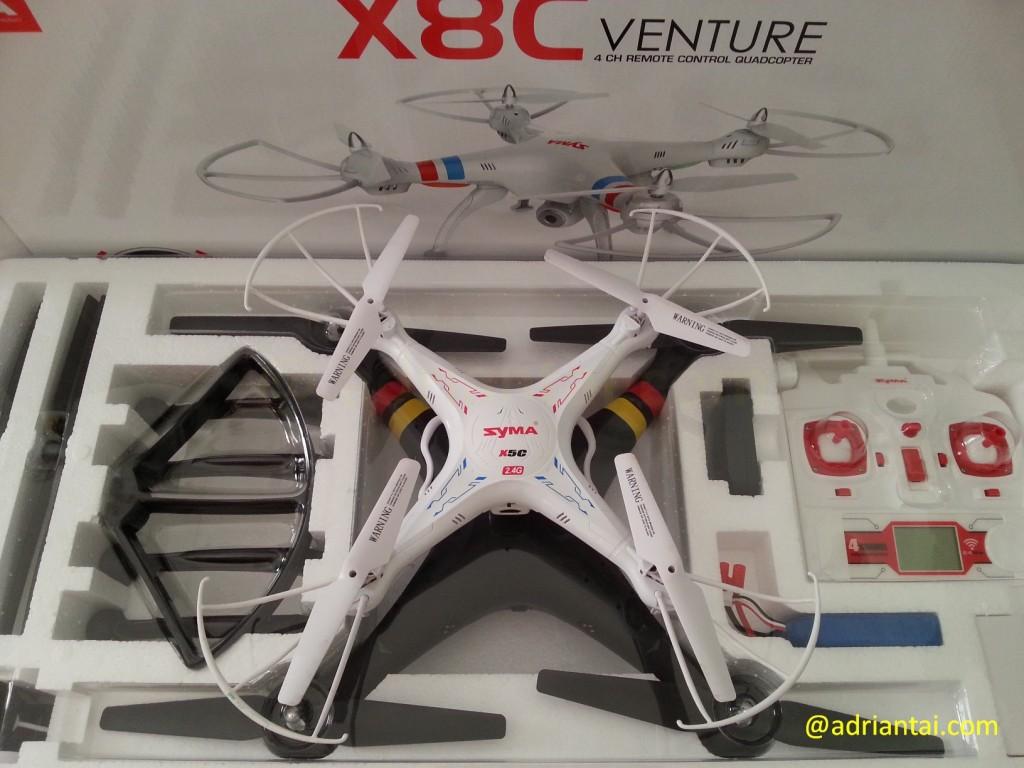 Syma X8C Venture vs Symx X5C