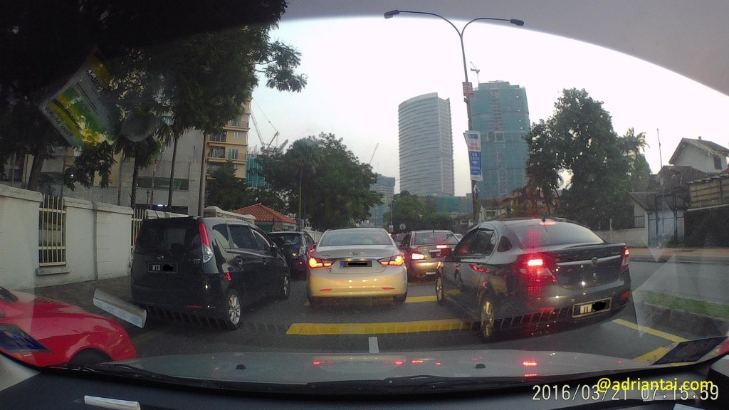 Sample photo from Xiaoyi dash cam