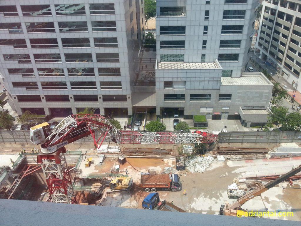 Crane incident