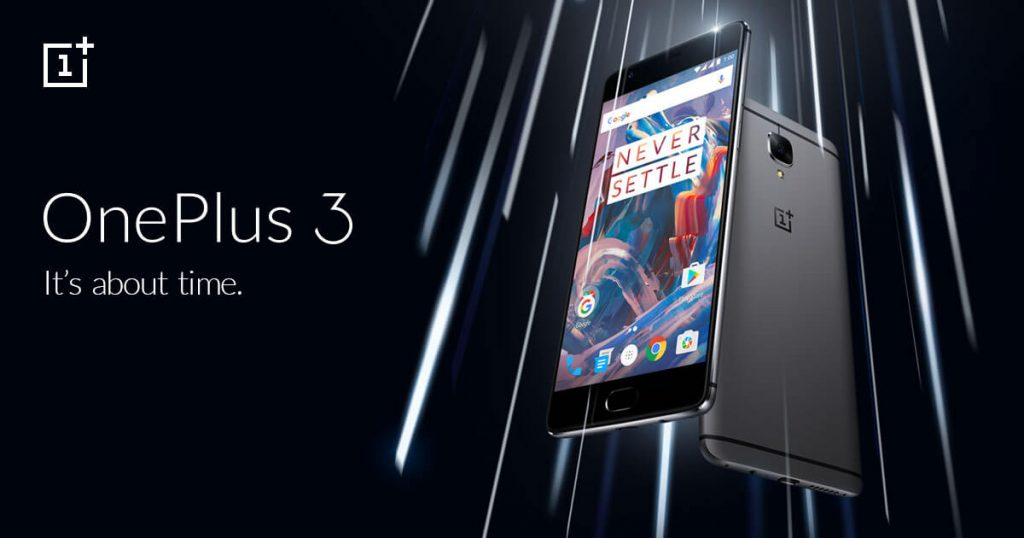 OnePlus 3 - It's about time