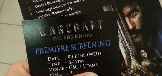 Warcraft premier tickets