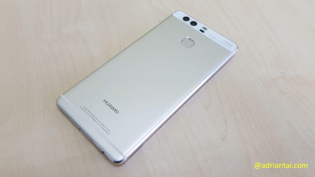 Back of Huawei P9