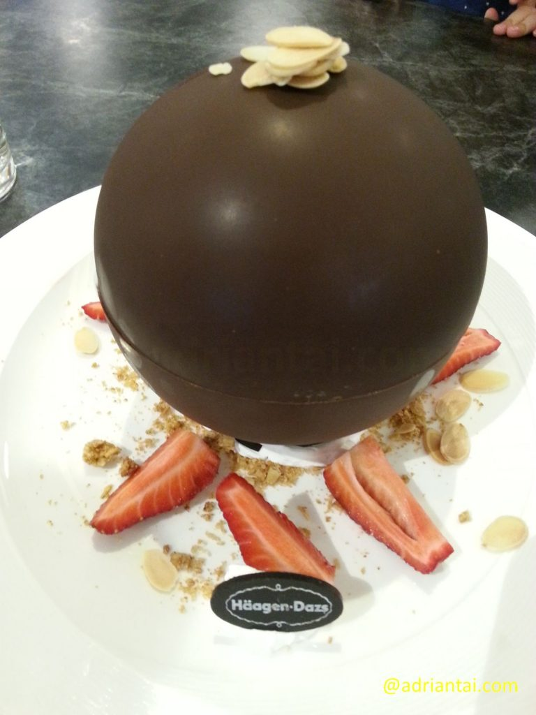 Chocolate Bombe - Before
