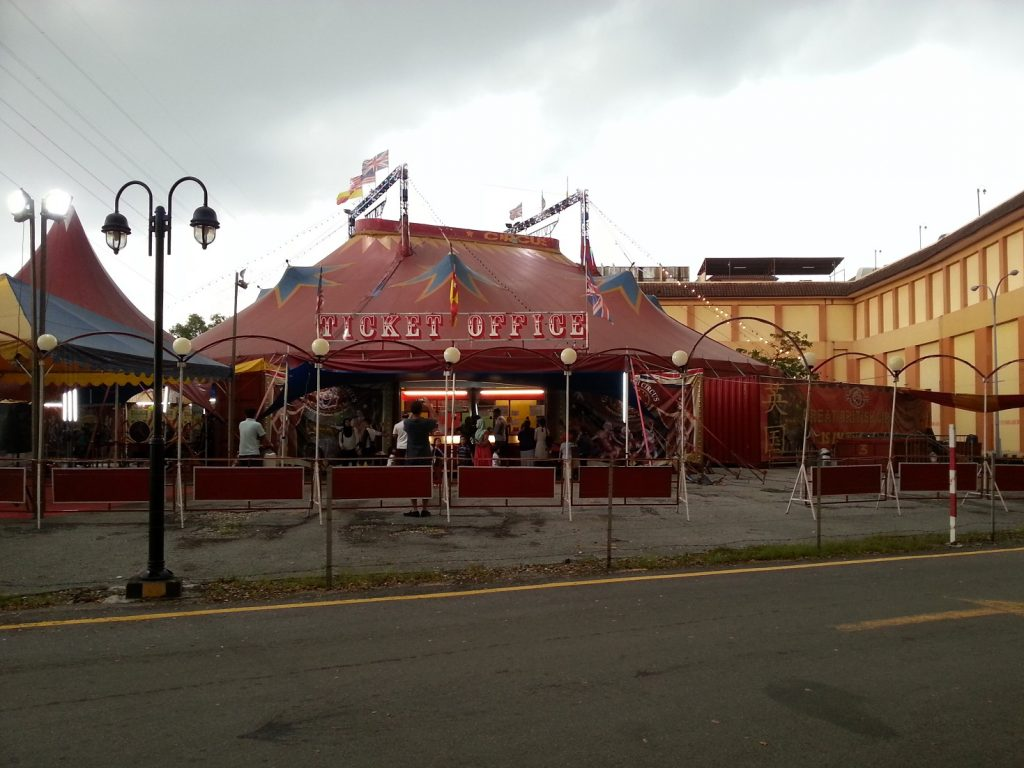 The Great British Circus Malaysia at OIO Mall Puchong
