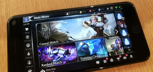 Garena Arena of Valor main screen
