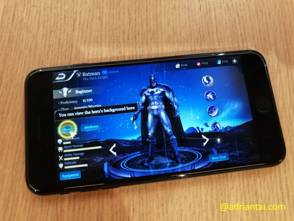 Garena Arena of Valor - I am Batman